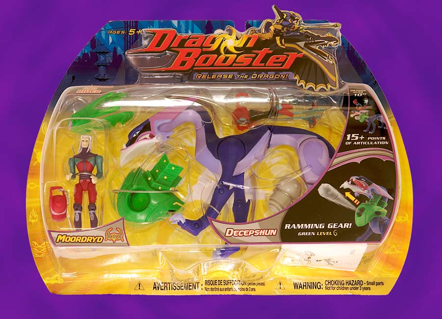 Dragon Booster: Decepshun and Moordryd Paynn Action Figure
