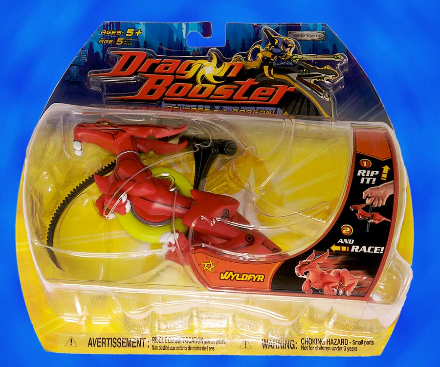 Dragon Booster: Super Speed Dragon Wyldfyr
