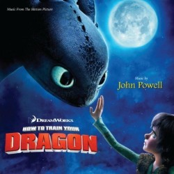 album cover for the How to Train Your Dragon original movie soundtrack